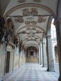 Προαύλιο Archiginnasio στη Μπολόνια Στοκ Φωτογραφίες
