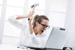 Προβλήματα υπολογιστών Στοκ Εικόνα