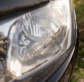 Προβολέας από το αυτοκίνητο ως αφηρημένο υπόβαθρο Στοκ φωτογραφία με δικαίωμα ελεύθερης χρήσης