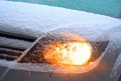 προβολέας που φωτίζεται Στοκ φωτογραφία με δικαίωμα ελεύθερης χρήσης