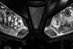 Προβολείς μοτοσικλετών στοκ φωτογραφίες