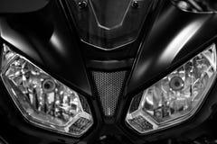 Προβολείς μοτοσικλετών στοκ φωτογραφίες με δικαίωμα ελεύθερης χρήσης