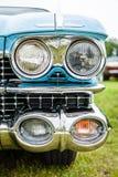 Προβολέας ενός αυτοκινήτου Cadillac Coupe DeVille, 1959 πολυτέλειας φυσικού μεγέθους Στοκ φωτογραφία με δικαίωμα ελεύθερης χρήσης