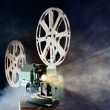 προβολέας κινηματογράφων αναδρομικός στοκ φωτογραφίες
