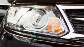 Προβολείς αυτοκινήτων Εξωτερική λεπτομέρεια Στοκ φωτογραφίες με δικαίωμα ελεύθερης χρήσης