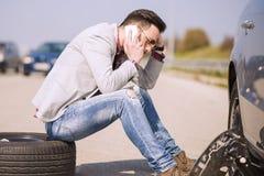 Προβλήματα αυτοκινήτων Στοκ Εικόνες