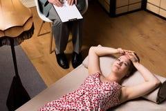 Προβλήματα με τις πνευματικές υγείες Στοκ φωτογραφίες με δικαίωμα ελεύθερης χρήσης