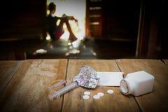 Προβλήματα ναρκωτικών Στοκ Φωτογραφίες