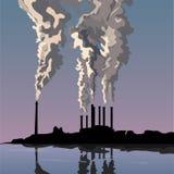 Προβλήματα οικολογίας της γης Στοκ εικόνα με δικαίωμα ελεύθερης χρήσης