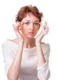 Προβλήματα της φροντίδας δέρματος στοκ φωτογραφία