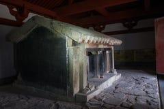 Προγονικό σπίτι Xiaotangshan, δυτική han δυναστεία στοκ εικόνες