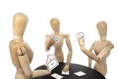 Προγραμματίζοντας πόκερ Στοκ φωτογραφία με δικαίωμα ελεύθερης χρήσης