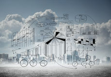 Προγραμματισμός επιχειρησιακής στρατηγικής Στοκ Εικόνες