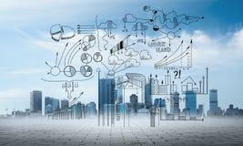 Προγραμματισμός επιχειρησιακής στρατηγικής Στοκ εικόνα με δικαίωμα ελεύθερης χρήσης