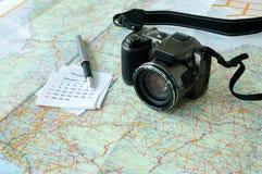 Προγραμματισμός ταξιδιού διακοπών Στοκ φωτογραφία με δικαίωμα ελεύθερης χρήσης