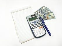 Προγραμματισμός Fiinancial σε Bill αμοιβής Εικόνα φωτογραφιών Στοκ φωτογραφία με δικαίωμα ελεύθερης χρήσης