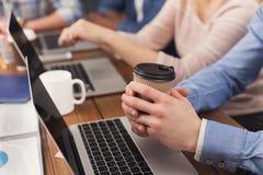 Προγραμματιστές που εργάζονται στο λογισμικό που αναπτύσσει την επιχείρηση Στοκ φωτογραφία με δικαίωμα ελεύθερης χρήσης