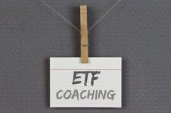 Προγύμναση ETF στοκ φωτογραφίες με δικαίωμα ελεύθερης χρήσης