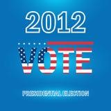 Προεδρική εκλογή το 2012 Στοκ εικόνα με δικαίωμα ελεύθερης χρήσης