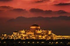 Προεδρικό παλάτι Αμπού Ντάμπι Ε.Α.Ε. στοκ εικόνα με δικαίωμα ελεύθερης χρήσης