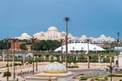 Προεδρικό παλάτι στο εμιράτο του Αμπού Ντάμπι, Ε.Α.Ε. στοκ εικόνες