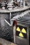 προειδοποίηση ακτινοβ&omic Στοκ Φωτογραφία