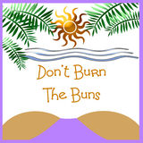 προειδοποίηση ηλιακού &epsi ελεύθερη απεικόνιση δικαιώματος
