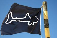 προειδοποίηση καρχαριών & Στοκ φωτογραφία με δικαίωμα ελεύθερης χρήσης