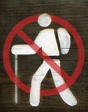 προειδοποίηση σημαδιών Στοκ εικόνες με δικαίωμα ελεύθερης χρήσης