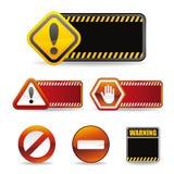 προειδοποίηση σημαδιών απεικόνιση αποθεμάτων