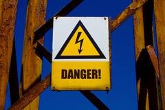 προειδοποίηση χαρτονιών Στοκ εικόνες με δικαίωμα ελεύθερης χρήσης
