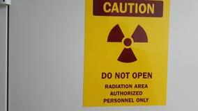 Προειδοποιητικό σημάδι ακτίνας X φιλμ μικρού μήκους