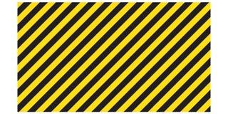 Προειδοποιώντας ριγωτό ορθογώνιο υπόβαθρο, κίτρινα και μαύρα λωρίδες στη διαγώνιος, μια προειδοποίηση να είναι προσεκτικός - ο πι απεικόνιση αποθεμάτων