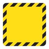 Προειδοποιώντας ριγωτό τετραγωνικό backg, που προειδοποιεί για να είναι προσεκτικός, πιθανός κίνδυνος, κίτρινα & μαύρα λωρίδες στ απεικόνιση αποθεμάτων