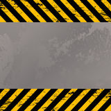 προειδοποίηση λωρίδων costructi Στοκ εικόνες με δικαίωμα ελεύθερης χρήσης