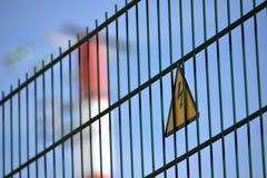 Προειδοποιητικό σημάδι κινδύνου Στοκ εικόνες με δικαίωμα ελεύθερης χρήσης