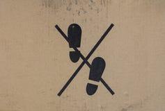 Προειδοποιητικό σημάδι στη συσκευασία χαρτονιού διανυσματική απεικόνιση