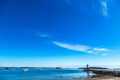 Προεξοχή ελαφρύ Πόρτλαντ Μαίην σημείου άνοιξη Στοκ εικόνα με δικαίωμα ελεύθερης χρήσης