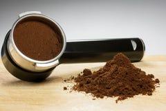 Προετοιμάστε το espresso Στοκ Φωτογραφία