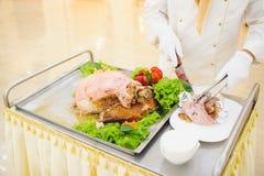 Προετοιμασία κρέατος Στοκ Φωτογραφίες