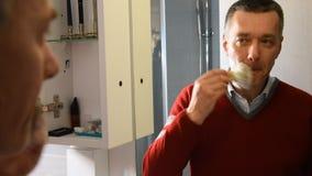 Προετοιμασία 07 ξυρίσματος απόθεμα βίντεο