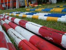 Προετοιμασία του αγώνα αλόγων Στοκ φωτογραφίες με δικαίωμα ελεύθερης χρήσης