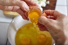 Προετοιμασία του αυγού Στοκ εικόνα με δικαίωμα ελεύθερης χρήσης