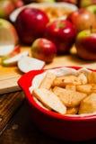 Προετοιμασία των τροφίμων για το κέικ Στοκ φωτογραφία με δικαίωμα ελεύθερης χρήσης