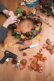 προετοιμασία των FO Χριστ&omicron Στοκ εικόνες με δικαίωμα ελεύθερης χρήσης