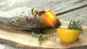 Προετοιμασία ψαριών Dorado, μαγειρικός φανός φιλμ μικρού μήκους