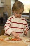 προετοιμασία tortillas Στοκ Εικόνες