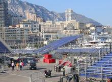 Προετοιμασίες για τα Grand Prix 2015 του Μονακό Στοκ Εικόνες