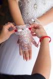Προετοιμασίες για το γάμο Στοκ Φωτογραφίες
