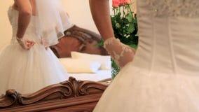 Προετοιμασμένος για το γάμο απόθεμα βίντεο